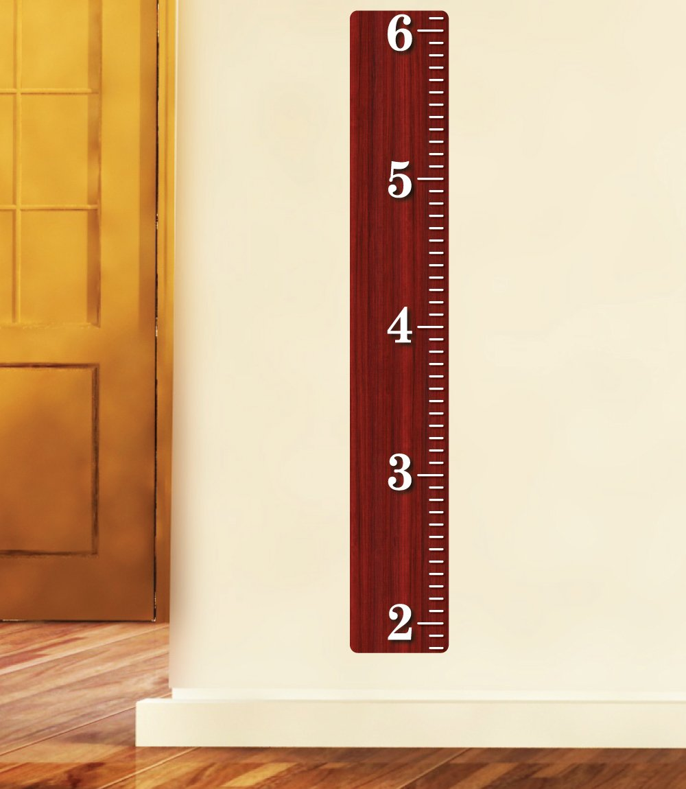 Amazon weathered wooden ruler growth chart wood ruler amazon weathered wooden ruler growth chart wood ruler height chart wall decal wall sticker baby geenschuldenfo Images