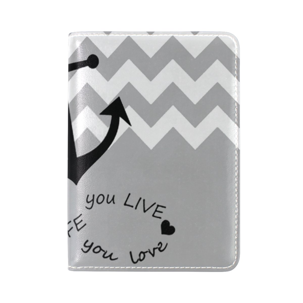 LEISISI Gorgeous Pattern Genuine Real Leather Passport Holder Cover Travel Case