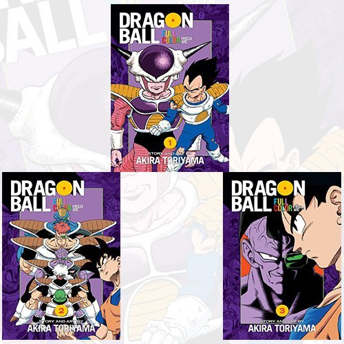 Dragon Ball Full Color Freeza Arc Vol 1-3 Akira Toriyama Collection 3 Books Bundle Collection by Akira Toriyama (2016-11-09)
