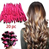 Best Rollers For Long Hairs - LIGE 20pcs Flexible Foam Sponge Hair Curlers,Foam Hair Review