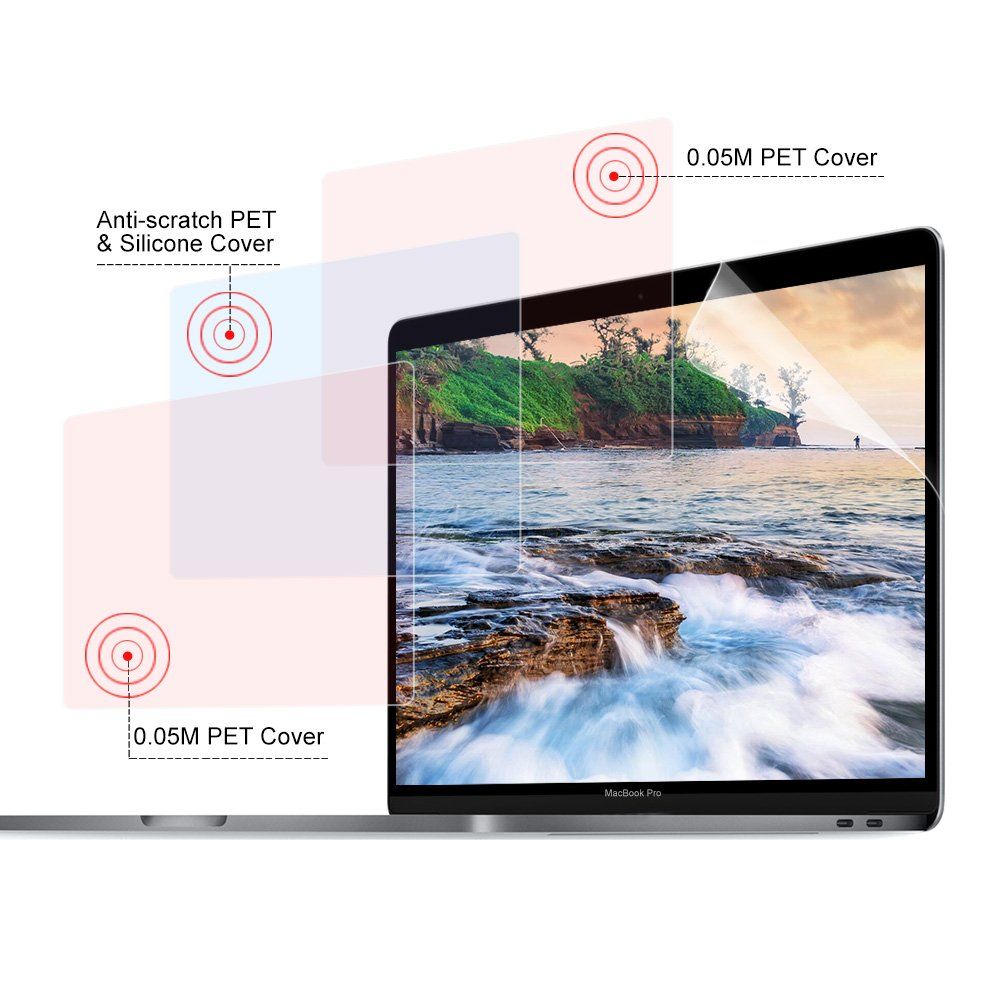 Anti-Glare//Anti-Fingerprint//Anti-Blue Light Display 16:9 WengTech 14 Laptop Clear Screen Protector Film for HP//DELL//Asus//Acer//Sony//Samsung//Lenovo//Toshiba