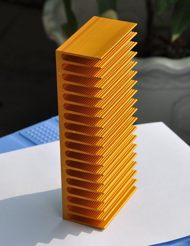 Electronics-Salon 1PCS Aluminum Heatsink 7.16 x 3.15 x 1.77 for Amplifiers