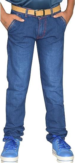 Tara Lifestyle Slim fit Denim Jeans Pant for Kids-Boys Jeans Pant - Royal Blue Boys' Jeans at amazon