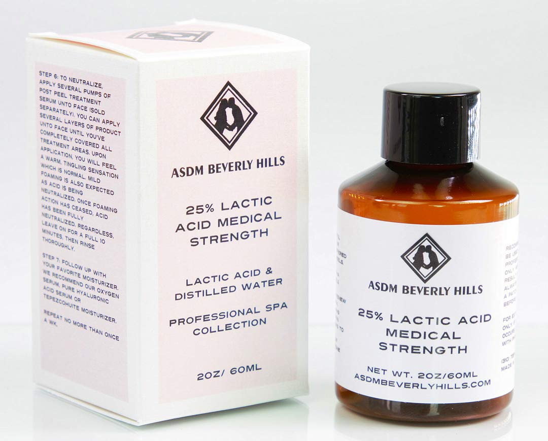 ASDM Beverly Hills 25% Lactic Acid Peel, 2 Ounce by ASDM Beverly Hills