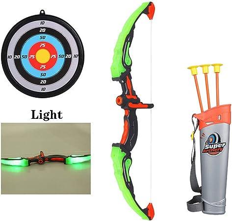 3+ Set arco e frecce con bersaglio giocattolo