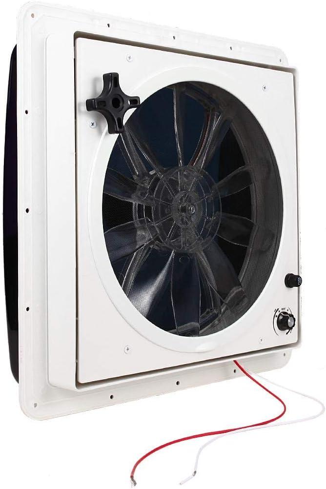 ALAVENTE RV Roof Vent 3-Speed Manual RV Vent Fan, 14