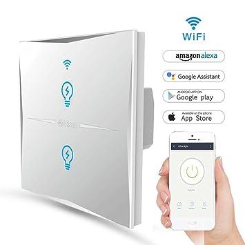 Wlan Alexa Lichtschalter Feyg Wifi Smart Lichtschalter Arbeitet Mit