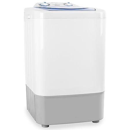 oneConcept SG002 Mini lavadora portatil (250W, 2,8 kg carga, 2 programas: delicado/normal, temporizador, bajo consumo, silencioso, ideal camping o ...