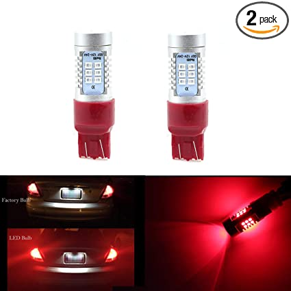 Amazon.com: 7440 7441 7443 7444 LED Red Bulb For Brake Light Tail lights,Turn Signal bulbs: Automotive