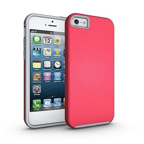 DETUOSI iPhone SE/5/5S Funda, Fundas de Protección Completa ...