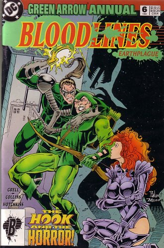 Price comparison product image Bloodlines Earthplague, Green Arrow Annual 6
