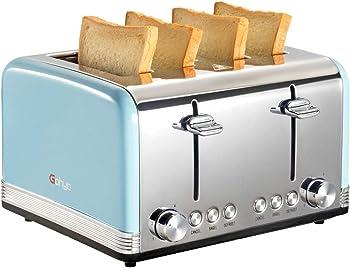 Gohyo 4-Slice Stainless Steel Toaster