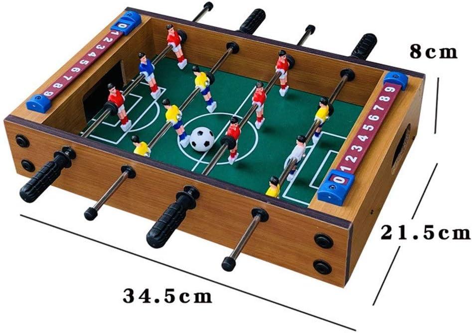 LERDBT Futbolín Adultos y niños Mini Mano Portable recreativo de ...