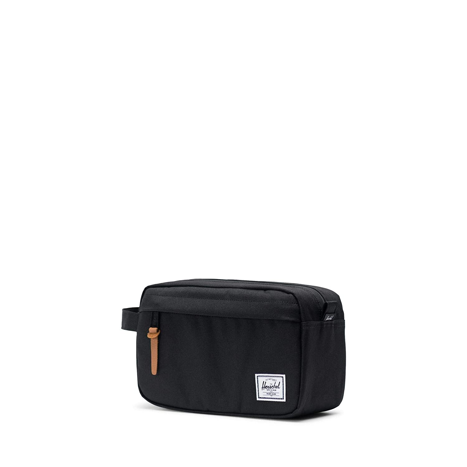 72d2e4fda953 Herschel Toiletry Bag Chapter 10039-00001-OS Black  Amazon.co.uk  Luggage