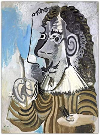 zxddzl Imprimir Lienzo Arte Pared Imagen Cartel Lienzo impresión Pintura Picasso España 50x70cm SIN Marco K06278: Amazon.es: Hogar