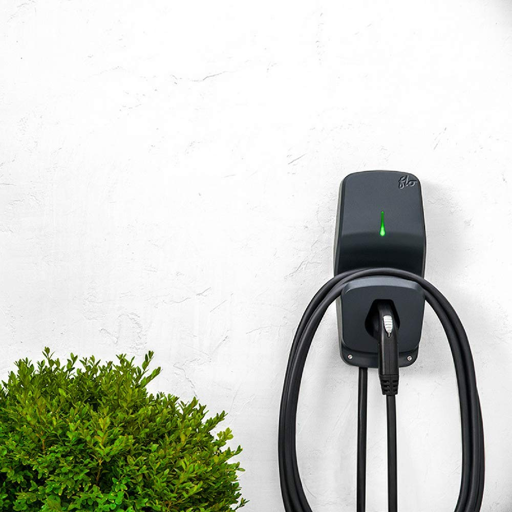 FLO Home X5 Carbon - Level 2 Electric Vehicle (EV) Smart Charging Station - 240 Volt, 30 Amp - Safety Certified - 25 ft Cable - Indoor or Outdoor - 5-Yrs Warranty - NEMA 6-50 Included by FLO (Image #8)