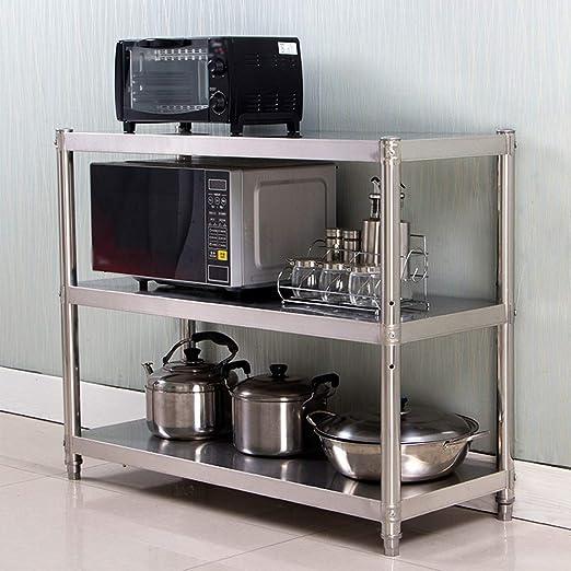 Microondas Caja Estantes de Cocina de microondas de validez 3 ...