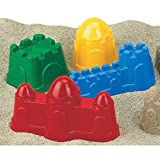 Assorted Color Castle Molds (1 piece, not a set - Color/style may vary)
