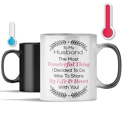 Amazon.com: Mejor marido taza de café – la cosa más ...