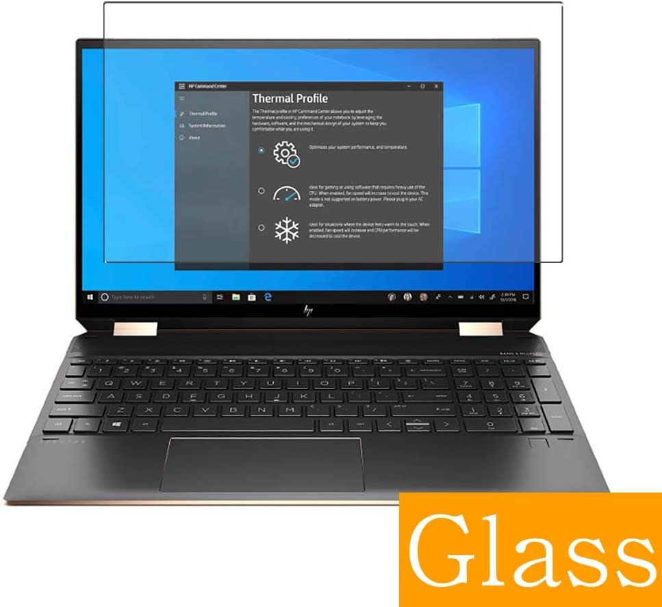 Synvy Tempered Glass Screen Protector Compatible with HP Spectre x360 15-eb0000 2 in 1 15.6