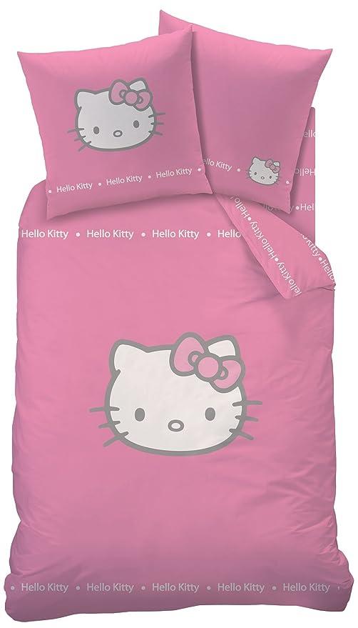 Copripiumino Hello Kitty.Sanrio Parure Di Letto Copripiumino Hello Kitty Reversibile