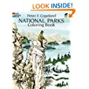 National Parks Coloring Book Dover Nature Coloring Book Peter F Copeland 9780486278322