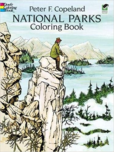 National Parks Coloring Book Dover Nature Coloring Book Peter F Copeland 9780486278322 Amazon Com Books