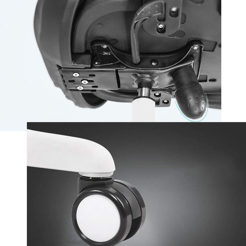 WYYY stolar kontorsstol 360 grader svängbar ergonomisk ländrygg stöd andningsbar nätstol armstöd justerbar höjd hållbar stark BLÅ BLÅ