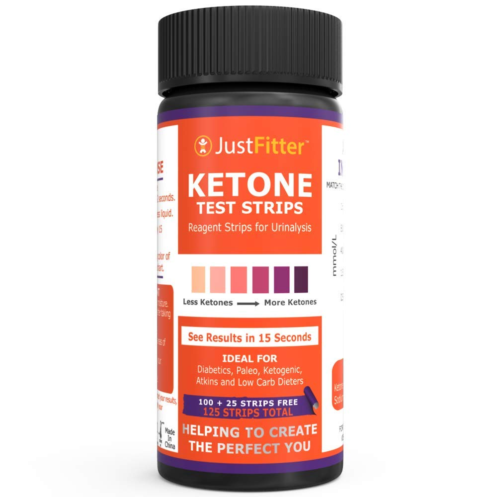 Just Fitter Ketone Test Strips Lose Weight Look And Feel Fabulous