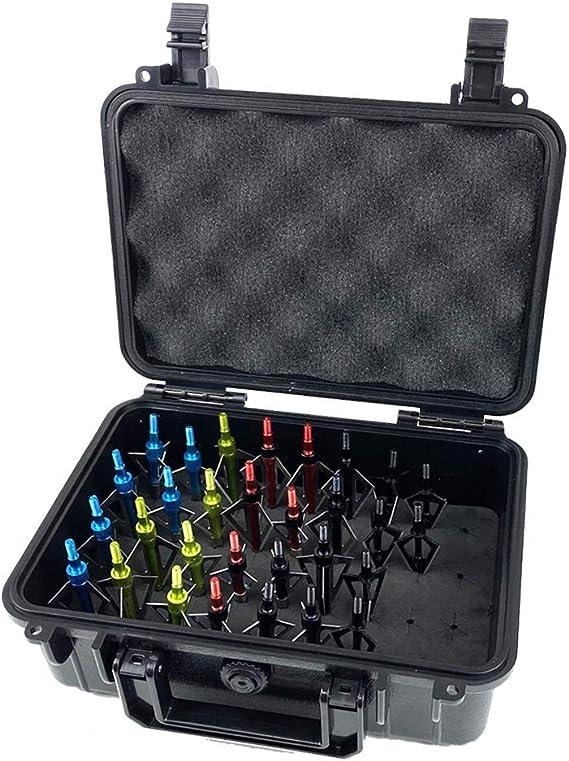 Mtm Broadhead Box Storage BH16 Holder Archery Accessory Plastic Case Clear