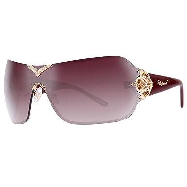 Amazon.com: Chopard anteojos de sol sch999s 08 FC oro/malva ...