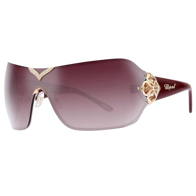5d5b8ef14f571 Chopard Sunglasses SCH999S 08FC Gold/Mauve 805: Amazon.ca: Clothing ...
