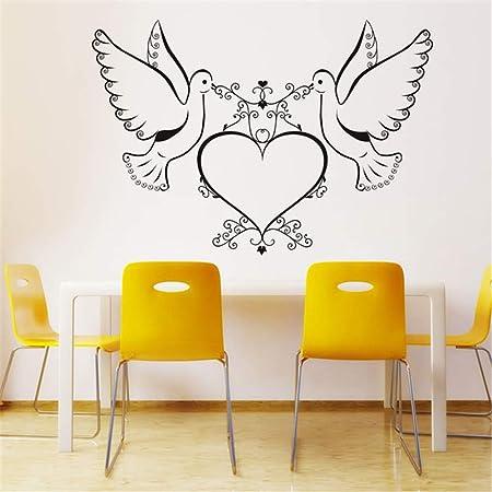 La decoración del arte ahueca hacia fuera la paloma doble que ...