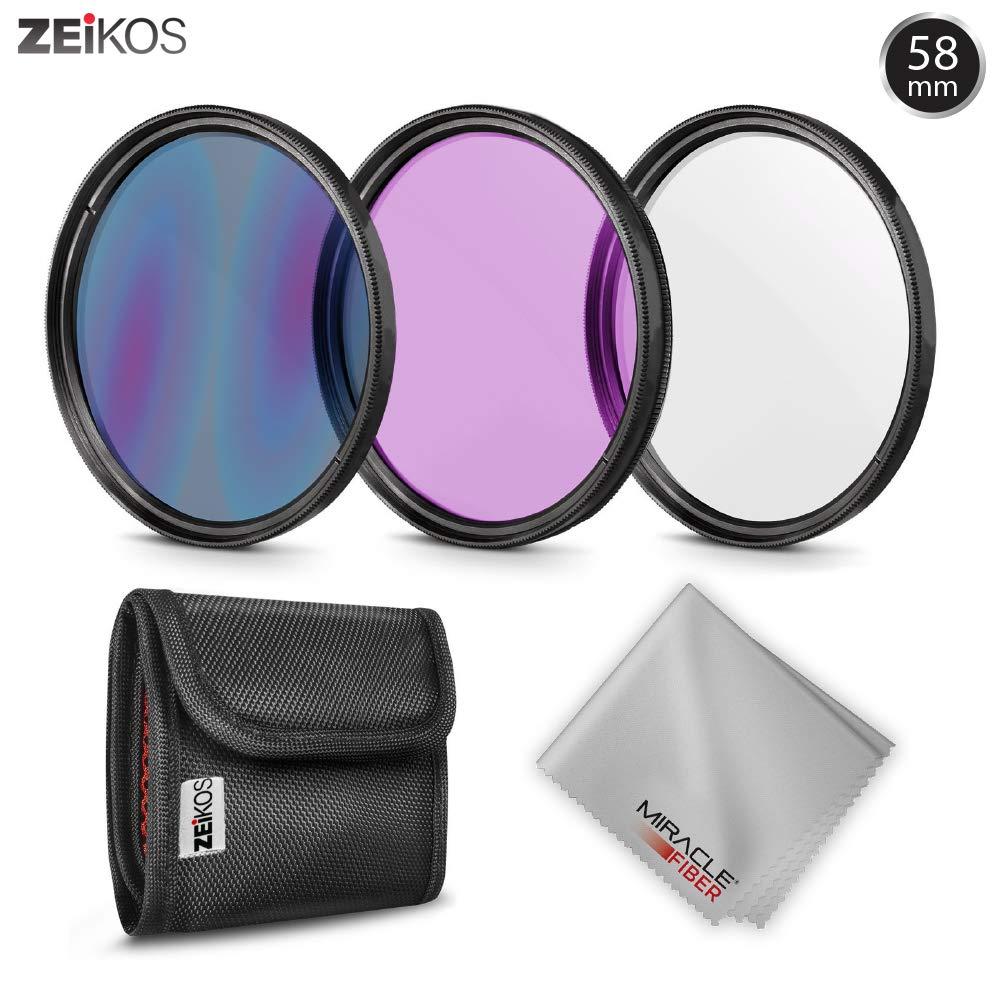 Kit de filtro profesional,para lentes Nikon y Canon