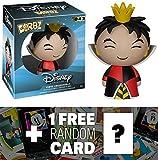 Queen of Hearts: Funko Dorbz x Disney Alice in Wonderland Mini Vinyl Figure + 1 FREE Classic Disney Trading Card Bundle [59989]