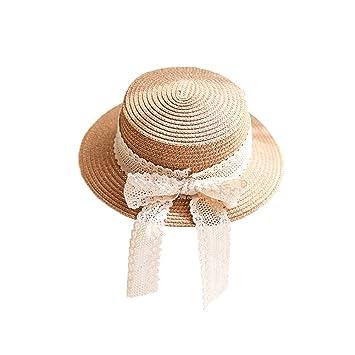 麦わら帽子 ストローハット カンカン帽 女優帽 キッズ 子供 女の子 親子 レディース 可愛い 蝶結び リボン
