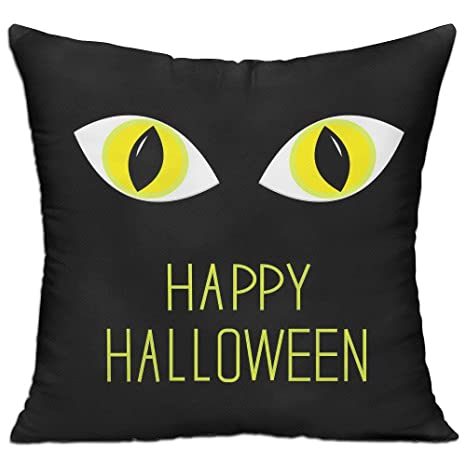 Amazon.com: LOKIUTY - Cojín para Halloween, diseño de ojos ...