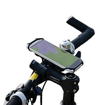 Soporte de manillar para el teléfono móvil (Phix) de silicona de BTR - SE ADAPTA A TODOS LOS MÓVILES Y BICICLETAS: Amazon.es: Deportes y aire libre