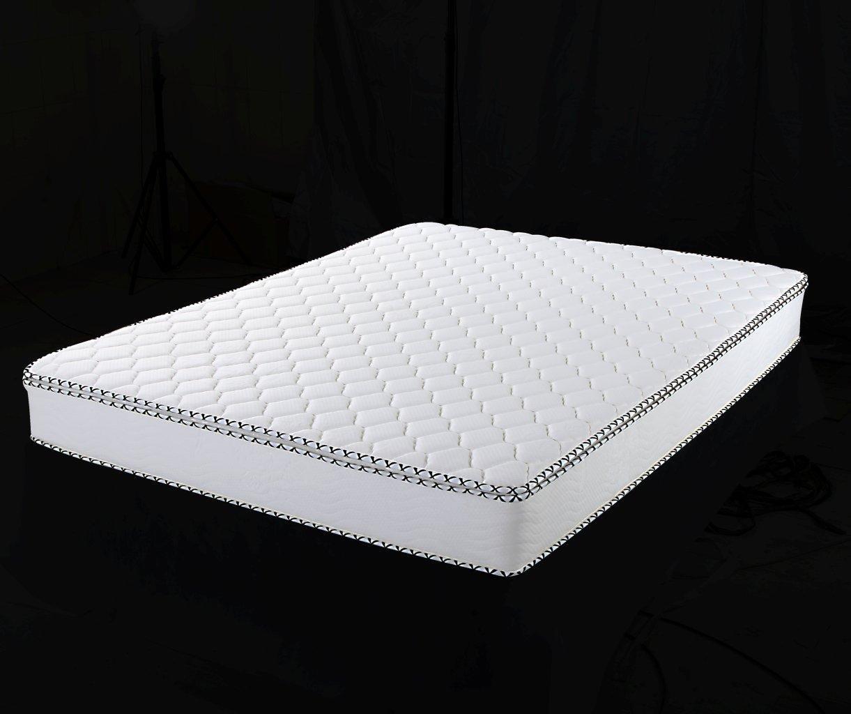 Home Life Pillow Top Harmony Sleep 8-Inch Pocket Spring Luxury Mattress Green Foam Certified, Twin