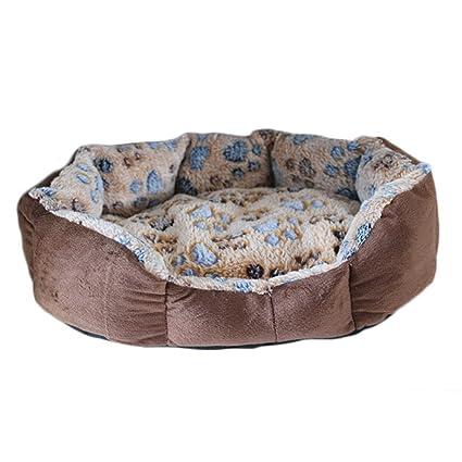 elvnx Cama cálida para Mascotas, Perros, Cachorros, Camas Suaves para Gatos para Mascotas