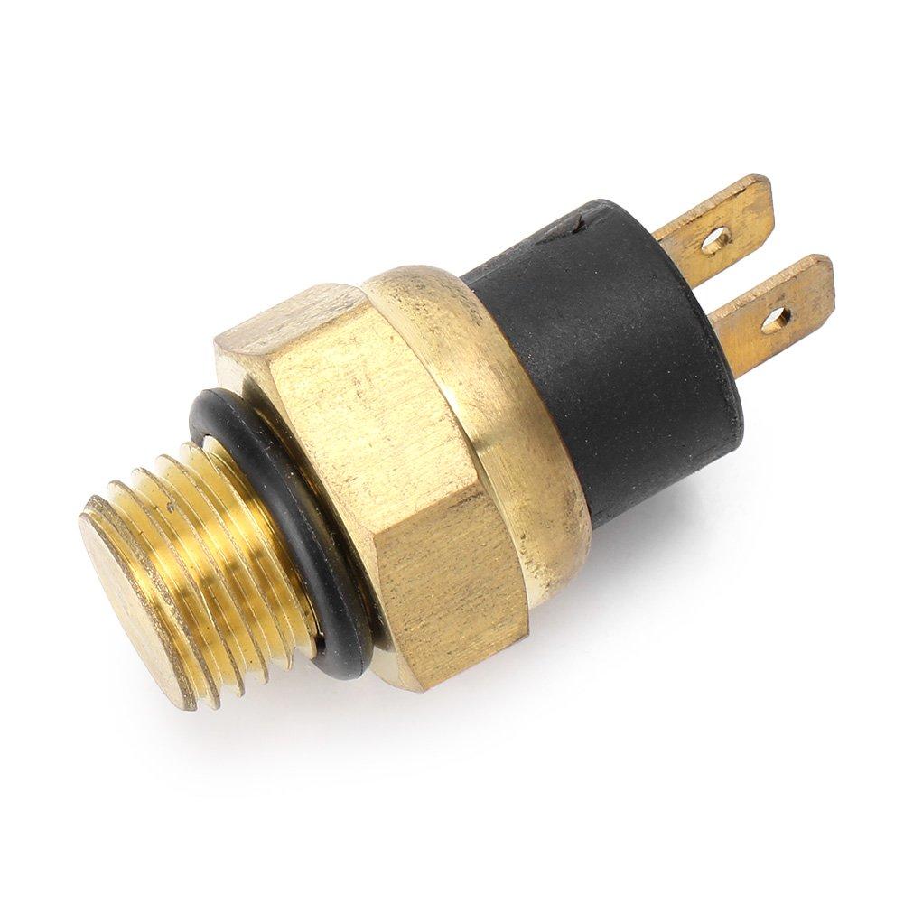 GZYF Aluminum Radiator Fan Switch, Coolant Temperature Sensor Thermostat Switch for Suzuki GSXR600 GSX-R750 GSX-R1000 GSX1300R