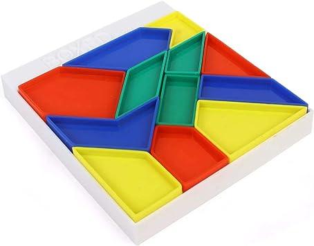 RATNAS Premium Quality Boxed Tangram Puzzle for Kids