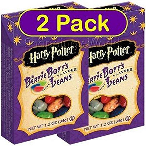 2 Pack HARRY POTTER BERTIE BOTTS BEAN 1.2oz Jelly Belly ~ Bo