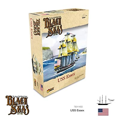 Black Seas Warlord Games USS Essex 792414002: Toys & Games