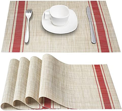 DACHUI Placemats Heat Resistant Resistant Anti Skid product image
