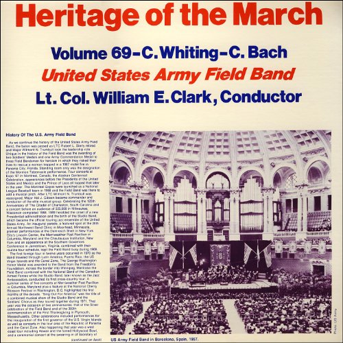 Heritage Of The March  Vol  69   The Music Of Whiting And Bach