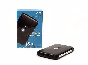 Wlan Router Sim Karte.Neu Ohne Sim Karte Mit Weltweiter Flatrate Pokefi 4g Lte 150 Mbit S Mobiler Wlan Router 5gb Datenvolumen Pocket Wifi Hotspot Ohne Versteckte