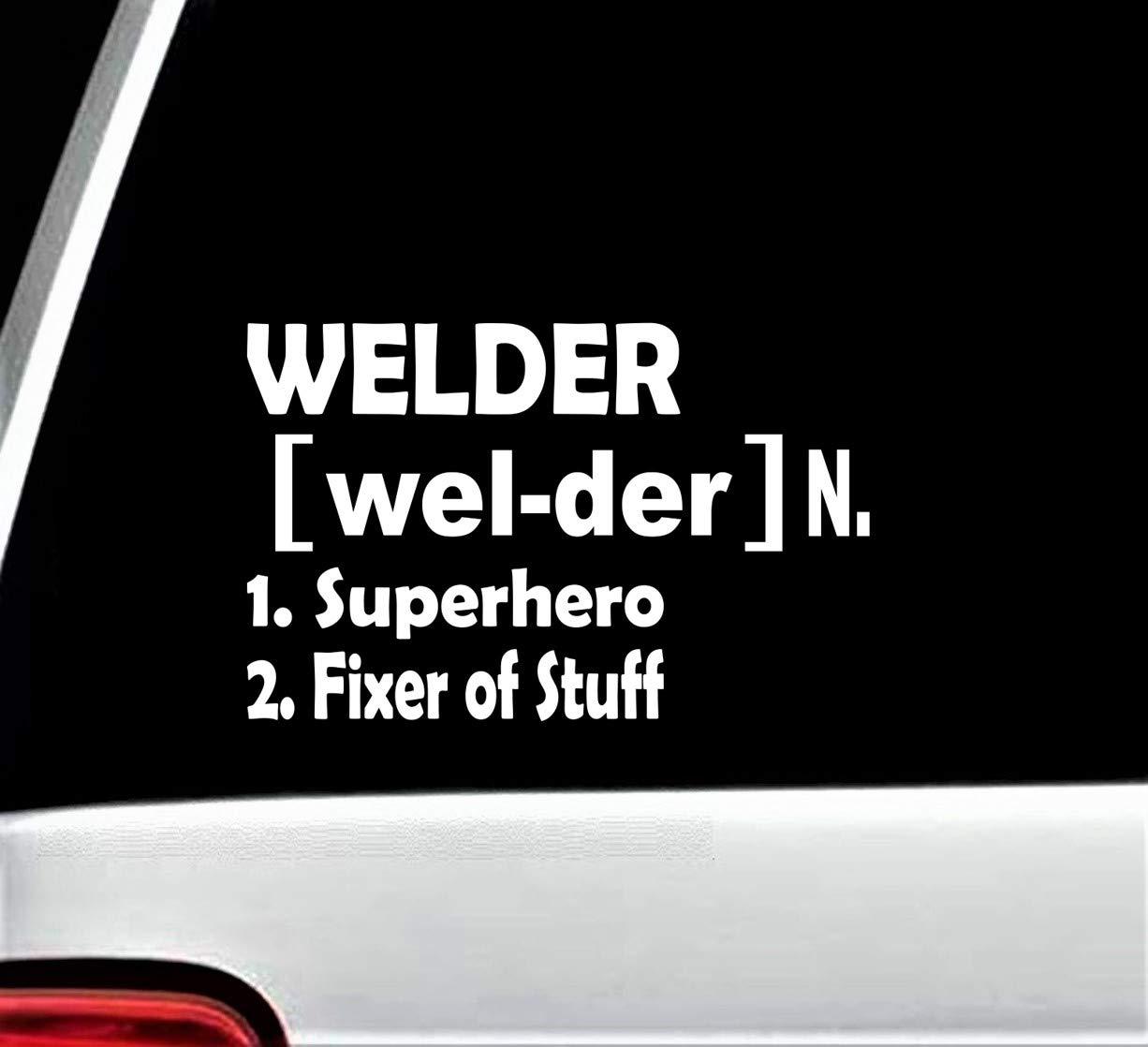 Welder Decal Sticker for Car Window BG 357