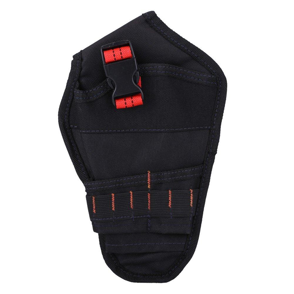 Red Braid Zerodis Bolsa para Herramientas Bolsa Herramientas con Cintur/ón Material de Oxford 600D Bolsas Portaherramientas Duro y Resistente al Desgaste