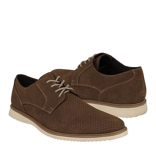 dc35200e Capa de Ozono Zapato Café Zapato para Hombre: Amazon.com.mx: Ropa ...